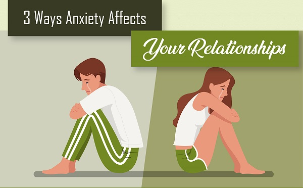3 Ways Anxiety Affects Your Relationships  | Infographics
