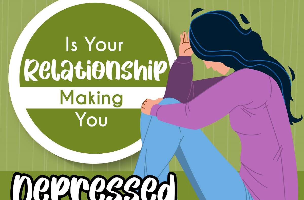 Is Your Realationship Making You Depressed  | Infogtaphic