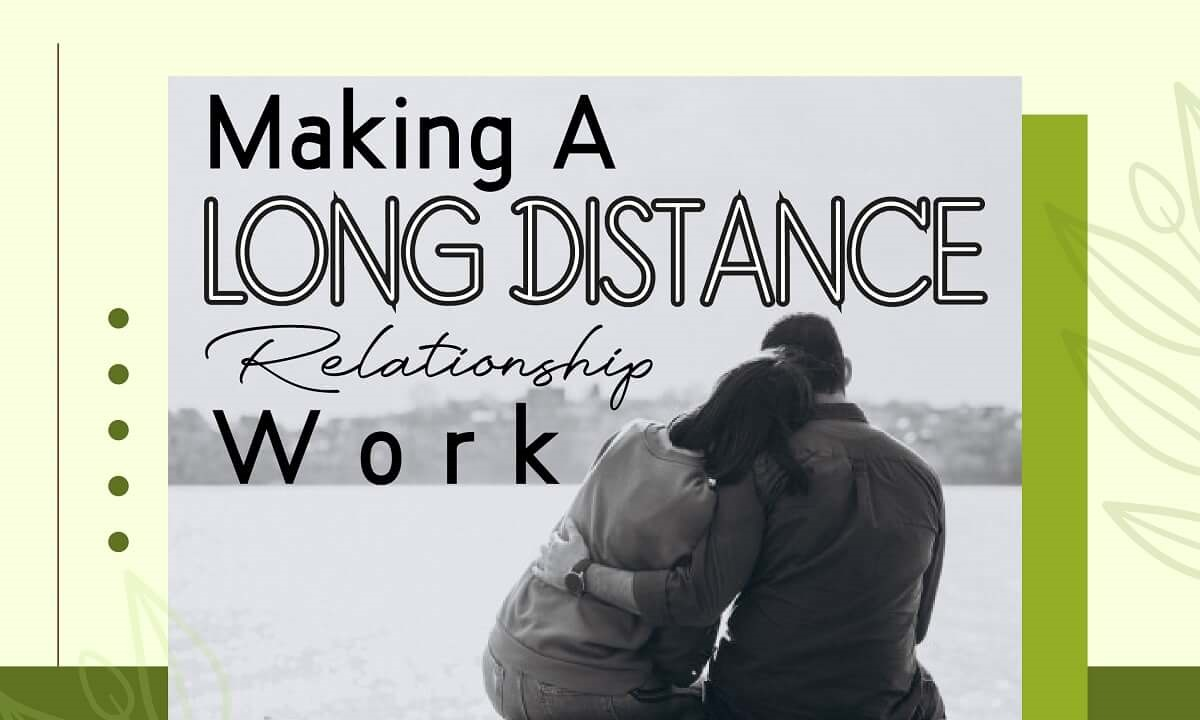 Making a Long Distance Relationship Work | Infographic